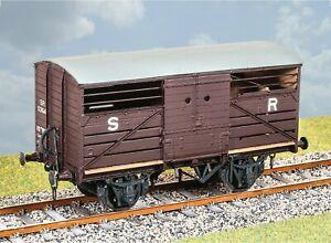 Parkside-PS107-O-Gauge-SR-Standard-Cattle-Wagon-Kit