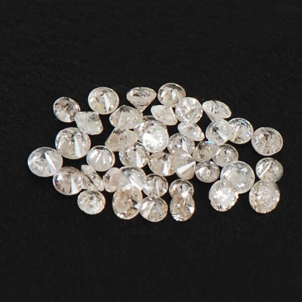 0,35kt Rundschnitt 100% Natürlicher Weiß Loser Diamant Lot Mit Frei Zertifikat Attraktive Mode