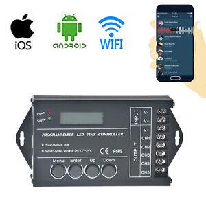 Controleur-de-LED-programmable-Time-LED-DC12-24V-TC420-TC421-WiFi-Dimmer-RGB