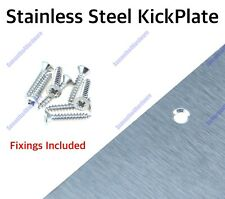 Stainless Door Kick Plates Kicking Plate @ £3.50 Kg Seconds Returns Clearance ££
