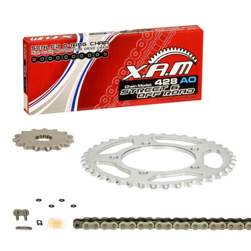 Kettensatz Yamaha WR 125 R//X XAM extra verstärkt CLIPSCHLOSS DE07 09-15