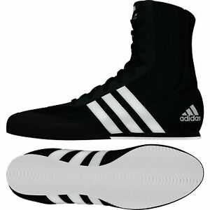 Adidas Box Hog 2 Boxe Bottes Homme Noir Kids Chaussures De Sport Baskets Tailles 3.5-14