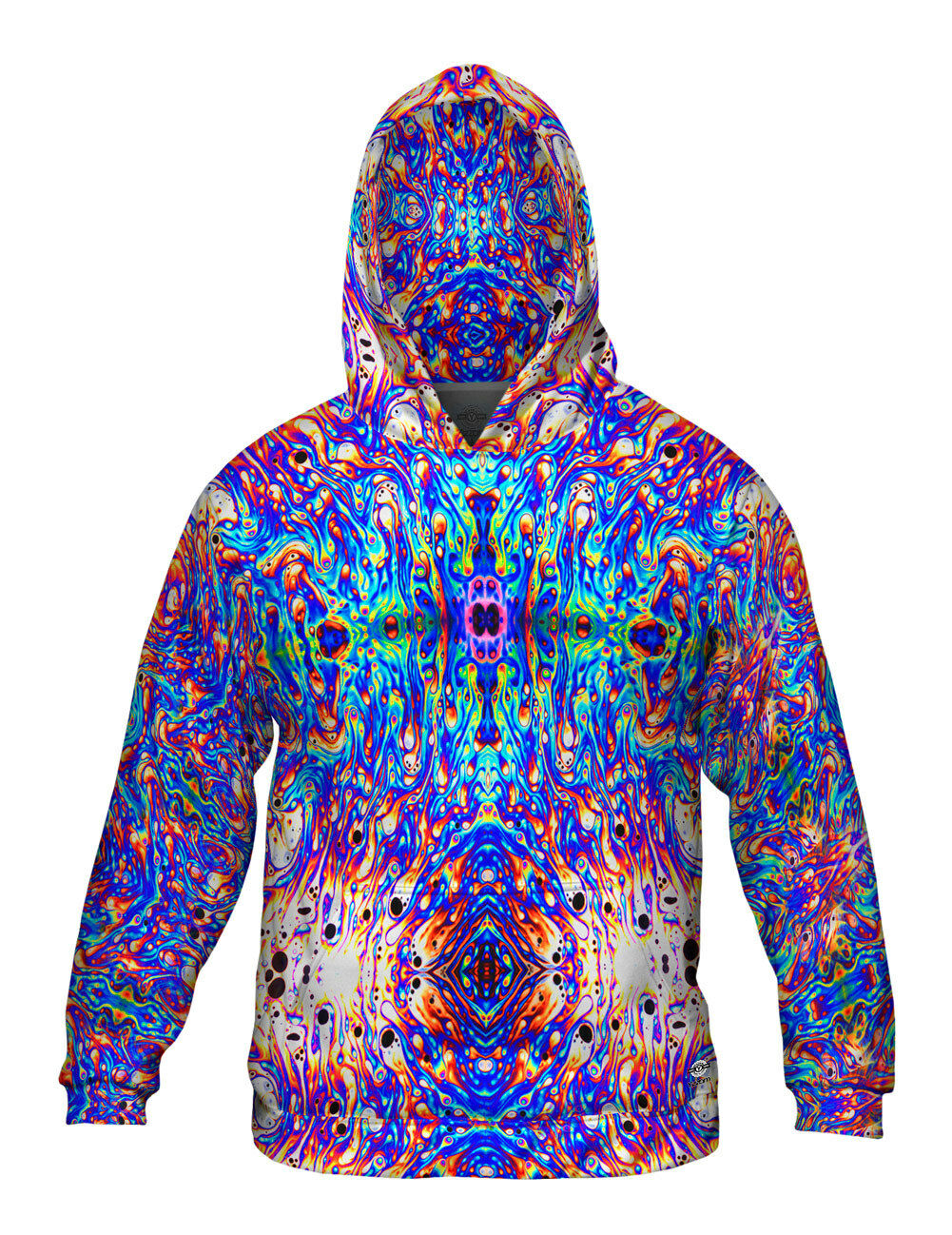 Yizzam- Psychedelic Neon Soap Party Violet - New  Herren Hoodie Sweater XS S M L X
