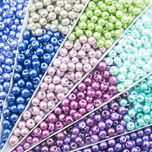 20strands-Glass-Pearl-Beads-Strands-Pearlized-Satin-Luster-Dyed-Round-6mm