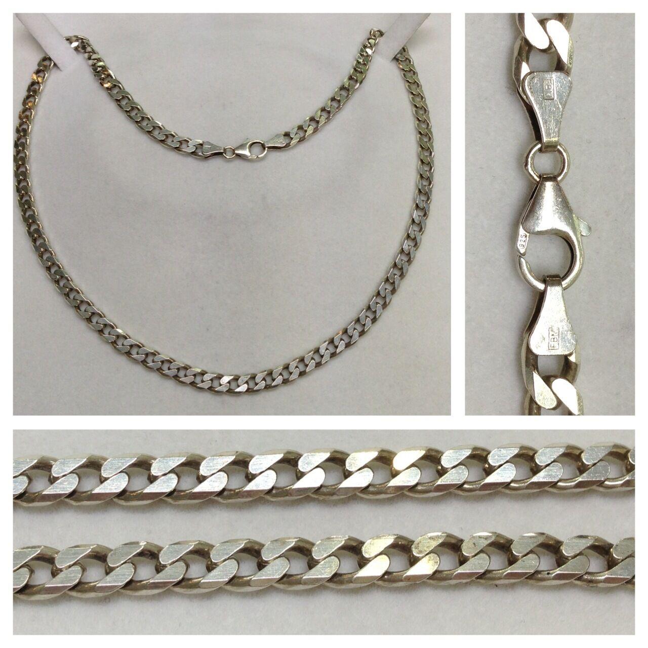 Macizo Cadena Collar 925 collar silver cadena de silver collar de silver
