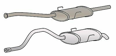 EXCL6075 EXHAUST SILENCER TAIL PIPE 3Yr Warranty