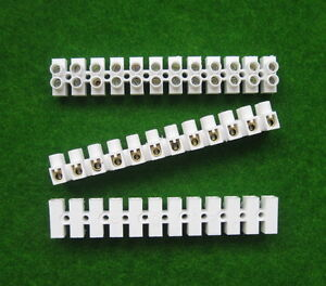 12 Way Electrical Connector Strips Terminal Blocks Wire Joiner