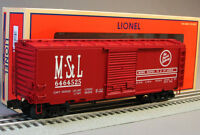 Lionel M & Stl Boxcar Box Car 6-27286 Train O Gauge Rolling Stock 6-27292