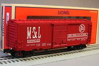 Lionel M & Stl Boxcar Box Car 6-27286 Train O Gauge Rolling Stock 6-27292