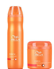 Wella Professional Enrich Moisturizing Treatment Shampoo And Masque -Combo