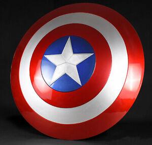 New Marvel Avengers Captain America Steve Rogers Shield 1:1 ABS Mode 57cm In Box