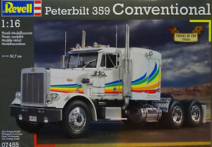 Revell 07455 Peterbilt 359 Conventional In 1 16
