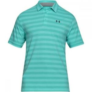 Under-Armour-Mens-Charged-Cotton-Scramble-Stripe-Polo-TROPICAL-1306127-425-2XL