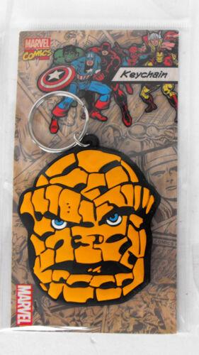 Marvel Super Hero Spider-man Iron man Hulk Thing Captain America keychain MINT