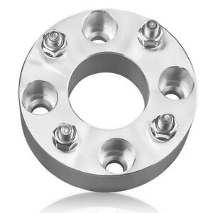 "2/"" Universal Wheel Spacers 4pc 50mm 4x114.3 to 4x114.3-12x1.5 Studs Nuts"
