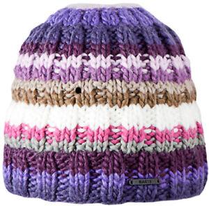 BARTS-TINKER-BEANIE-Hand-Knitted-Ski-Hat-DARK-VIOLET