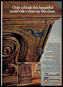 A Imagem Está Carregando Thomasville Furniture 1969 Acabamento Close Up Flamenco Peito