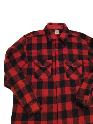 VTG 40s 50s Sweet-Orr Union Made Buffalo Plaid Lum