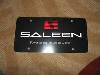 Saleen Ford Mustang Dodge Challenger Power In The Hands Of Few License Plate
