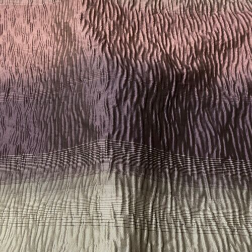 Stunning Purple and Grey Ombre Textured Curtain Fabric// Material New BR388