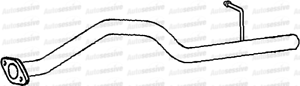 Land Rover Defender 90 2.5Tdi 97-99 Exhaust Tail Pipe Spare Part Replace