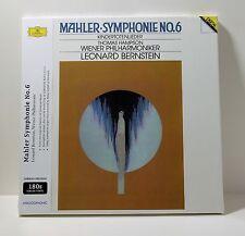 Bernstein GUSTAV MAHLER Symphonie No 6 180g VINYL 2xLP BOX Sealed IMPORT Germany