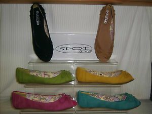 SALE-Spot-On-ladies-flat-peep-toe-casual-shoe-PU-with-bow-various-colours-F1929