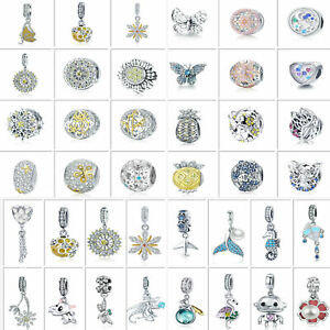 Mutiple-925-Sterling-Silver-Charms-Beads-Optional-Pendant-DIY-Fit-Bracelet-Chain