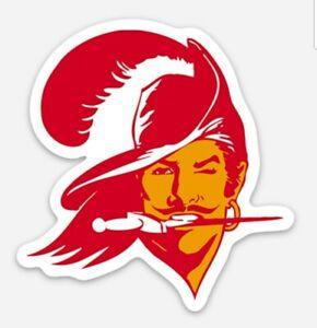 MAGNET Tampa Bay Buccaneers Vintage Logo - NFL Go Bucs Tom Brady Era