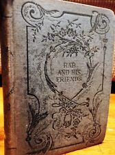 Rab and His Friends by John Brown MD Hard Cover Book 1869 Vintage