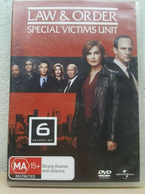 Law And Order SVU : SEASON 6 / Series Six (DVD SET) Special Victims Unit
