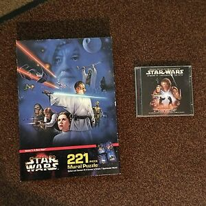 Star Wars 1997 Nib Scene 1 A New Hope Puzzle Soundtrack Revenge Of The Sith Ebay