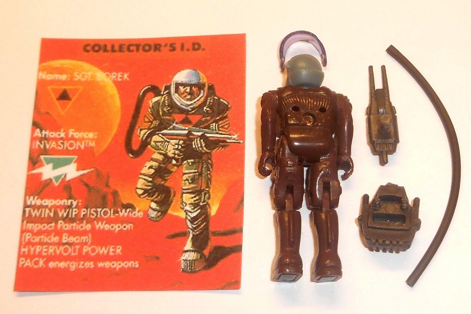 (E040) Vintage 1980's Starcom Toys Toys Toys   Figures  SGT. BOREK  Invasion eede60