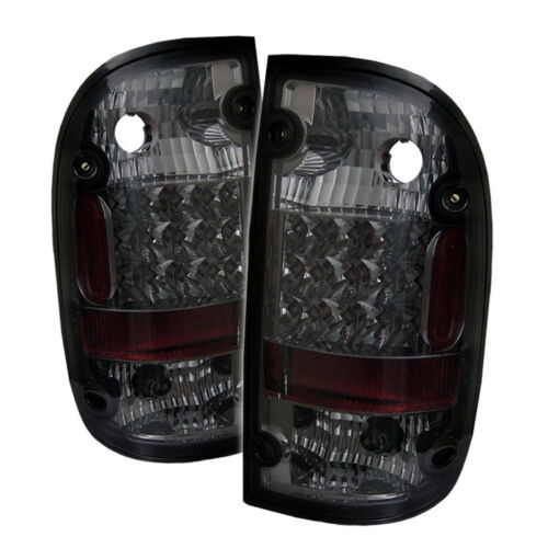Toyota 95-00 Tacoma Smoke LED Rear Tail Brake Lights Lamp DLX SR5 Pre-Runner
