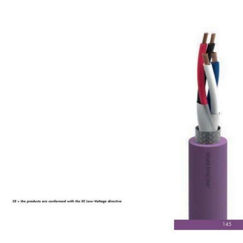 DeviceNet Drop Cable 1x2x0.34 1x2x0.22mm2 2 pair screened QTY=1m 001771
