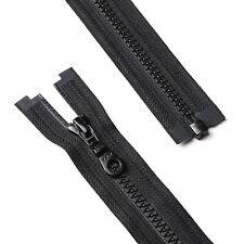 YKK Mini Vislon Separating Zipper White 6