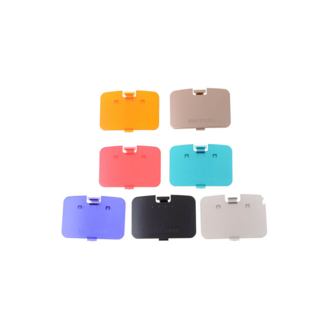 Jumper Pak Memory Expansion Pack Cover Door Replacement For Nintendo 64 Lid E9C