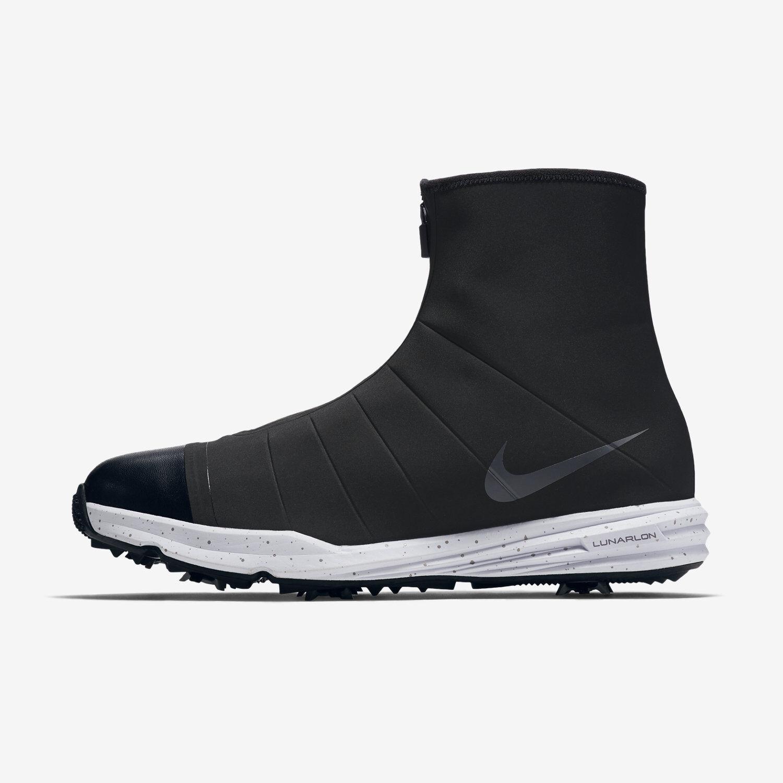 Nike Lunar Bandon 3 Men's Noir Waterproof Golf Chaussures - Noir Men's Camo 776110-001 449971