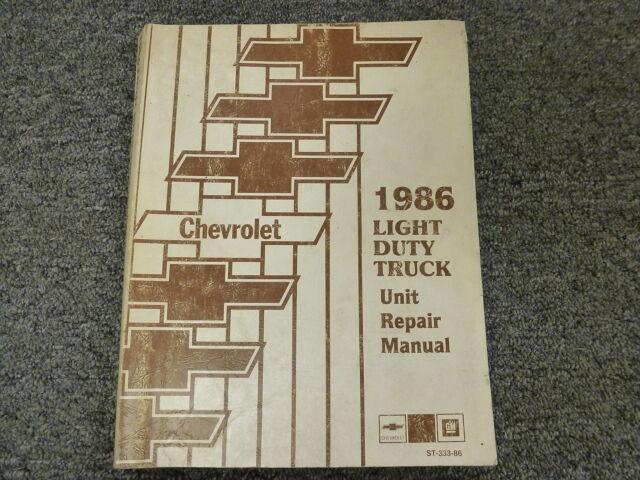 1982 Chevy Silverado C10 C20 C30 K10 K20 Engine Overhaul