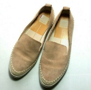 Dolce Vita Shoes Womens 8.5 Reina Nude Suede Leather