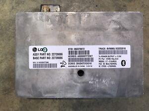 2011 Camaro SS LaCrosse SRX OEM GM 22739886 On Star Bluetooth Module