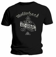 Motorhead T Shirt Ace Of Spades Louder Mens Black Tee All Sizes. England Metal