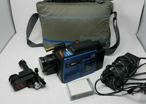 Panasonic Omnimovie Vintage Vhs Camcorder W Case Power Cord 1 Batterie Mount Ebay