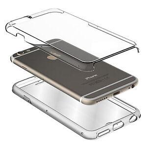 Rundumschutz Doppel Silikon Hulle Schutz Iphone 7 Tasche Transparent