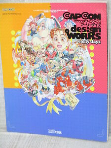 CAPCOM-DESIGN-WORKS-EARLY-DAYS-Game-Illustration-Art-Works-Book-EB70
