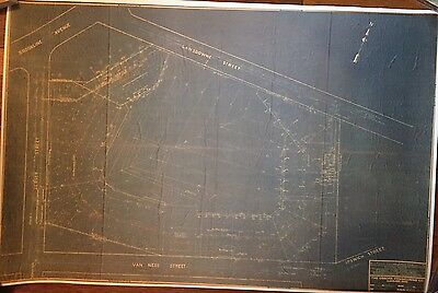 1933 Fenway Park Stadium Reproduction Mint Blueprint Boston Red Sox Ma 24 X36 Ebay