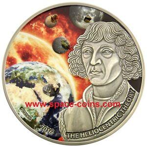 2016 Burkina Faso Copernicus, 5 Meteorites Moon, Mars, Heliocentric, 1000 Francs - Deutschland - 2016 Burkina Faso Copernicus, 5 Meteorites Moon, Mars, Heliocentric, 1000 Francs - Deutschland