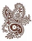 Henna Paisley Tattoos by Anna Pomaska (Paperback, 2004)