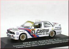 """BMW M3 E30 """" Castrol """" TW-WM 1987 #63 3rd Spa - Garage Du Bac - IXO - 1:43 - LE"""