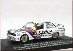 BMW-M3-E30-Castrol-TW-WM-1987-63-3rd-Spa-Giroix-Fabre-Garage-Du-Bac-IXO-1-43-LE